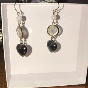 Jewelry - Black gem earrings